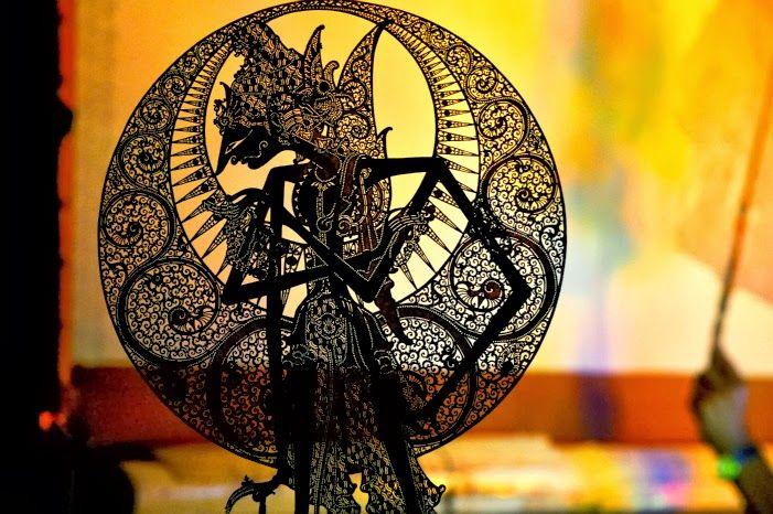 Wayang Maskot Indonesia Seni Tradisional Gambar Ilustrasi
