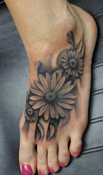 Daisy Tattoos For Men: Best Daisy Tattoos