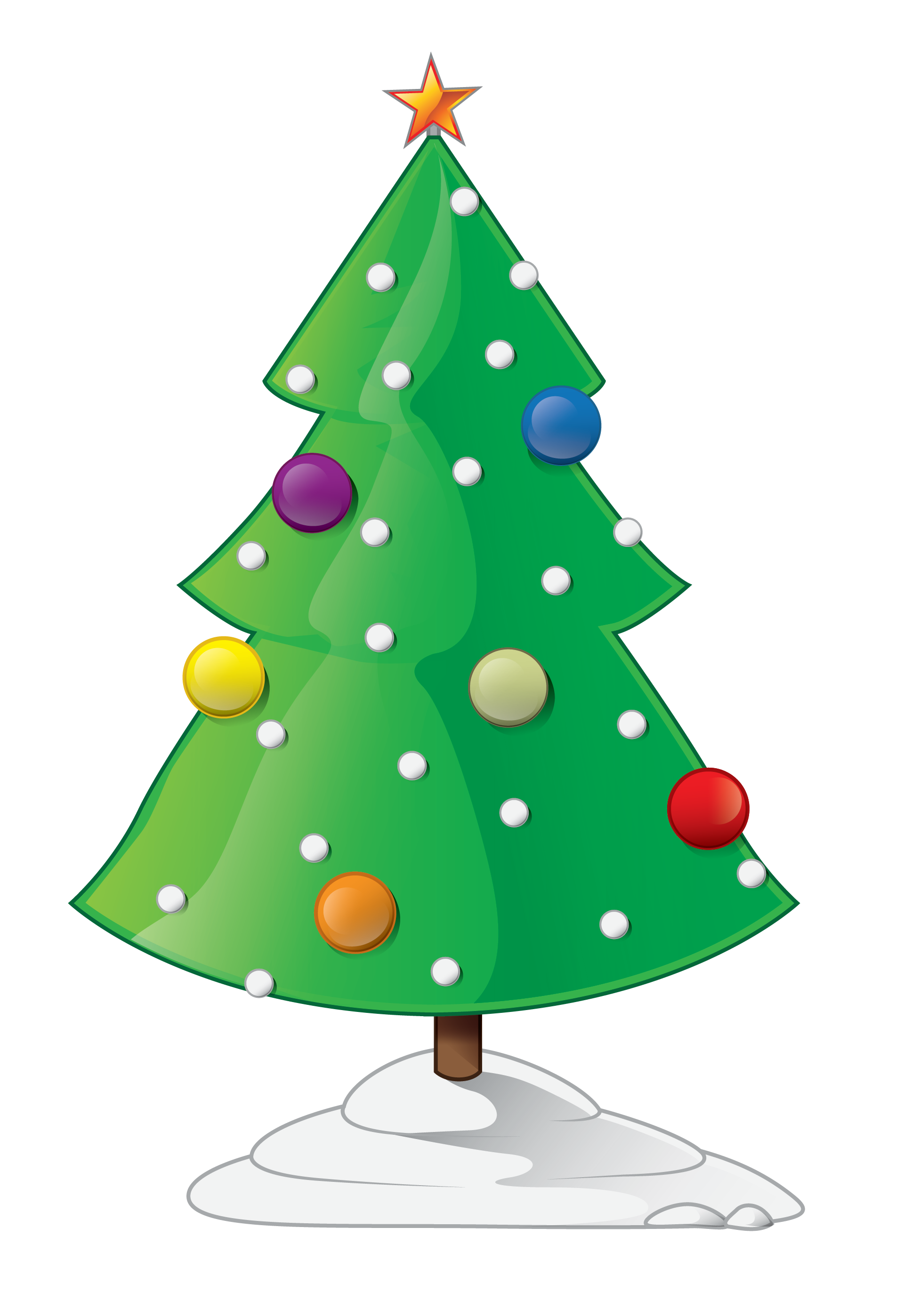 Free to Use & Public Domain Christmas Tree Clip Art