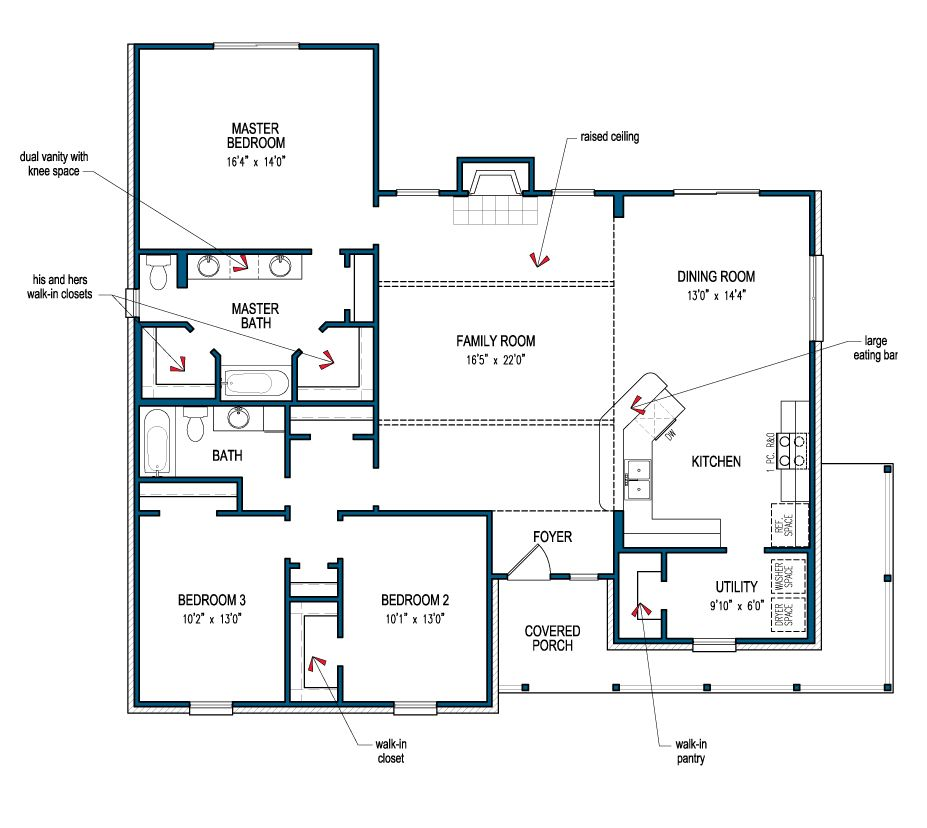 Carlton Iii Informal Floor Plans House Floor Plans New House Plans