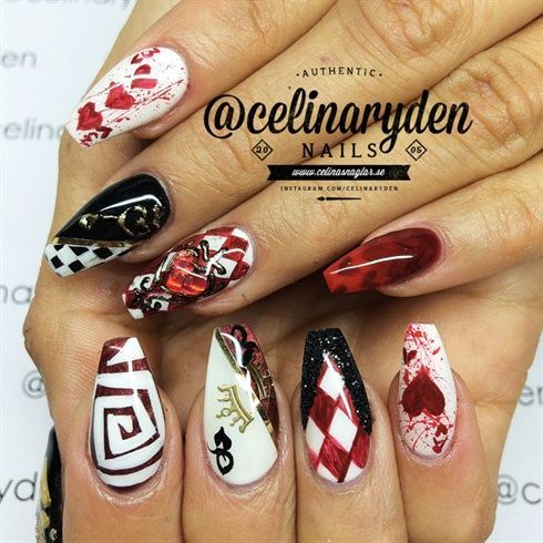 Alice In Wonderland by Celinas_Ryden from Nail Art Gallery