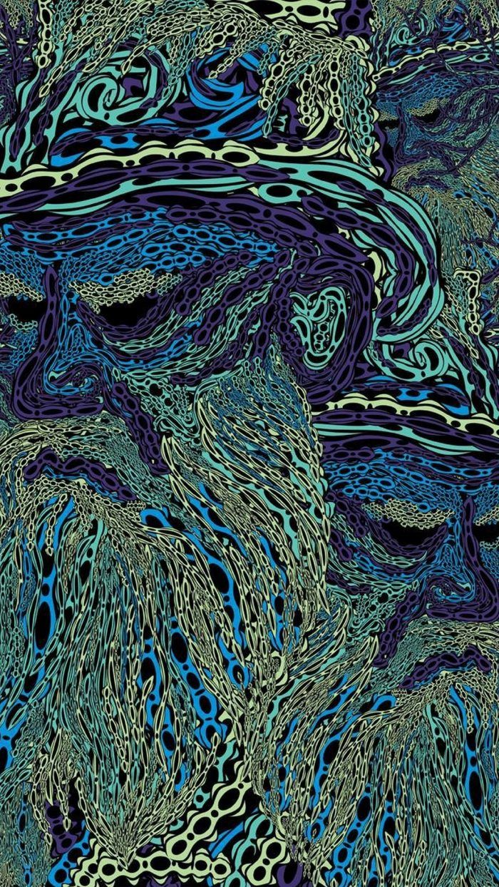iPhone 8 Wallpaper Psychedelic Art Psychedelic art