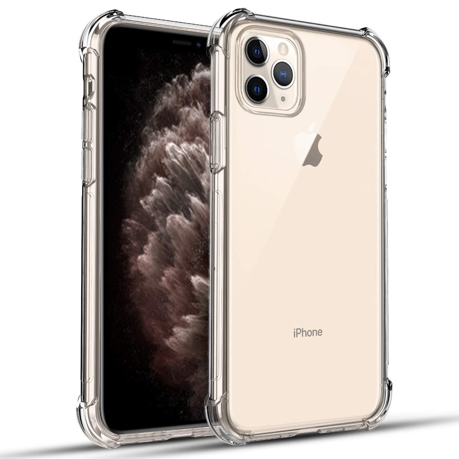 "RioGree for iPhone 11 Pro Max Case (XI 6.5"" 2019) Clear"