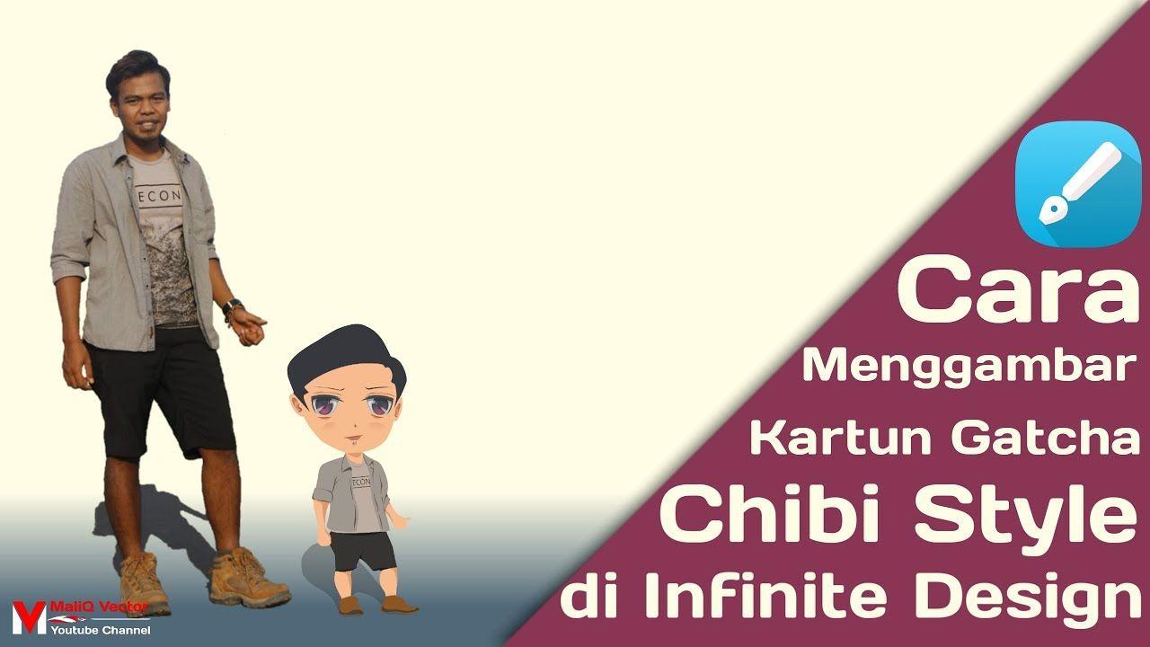 Cara Menggambar Kartun Gatcha Atau Chibi Style Di Infinite Design Chibi Kartun Gambar