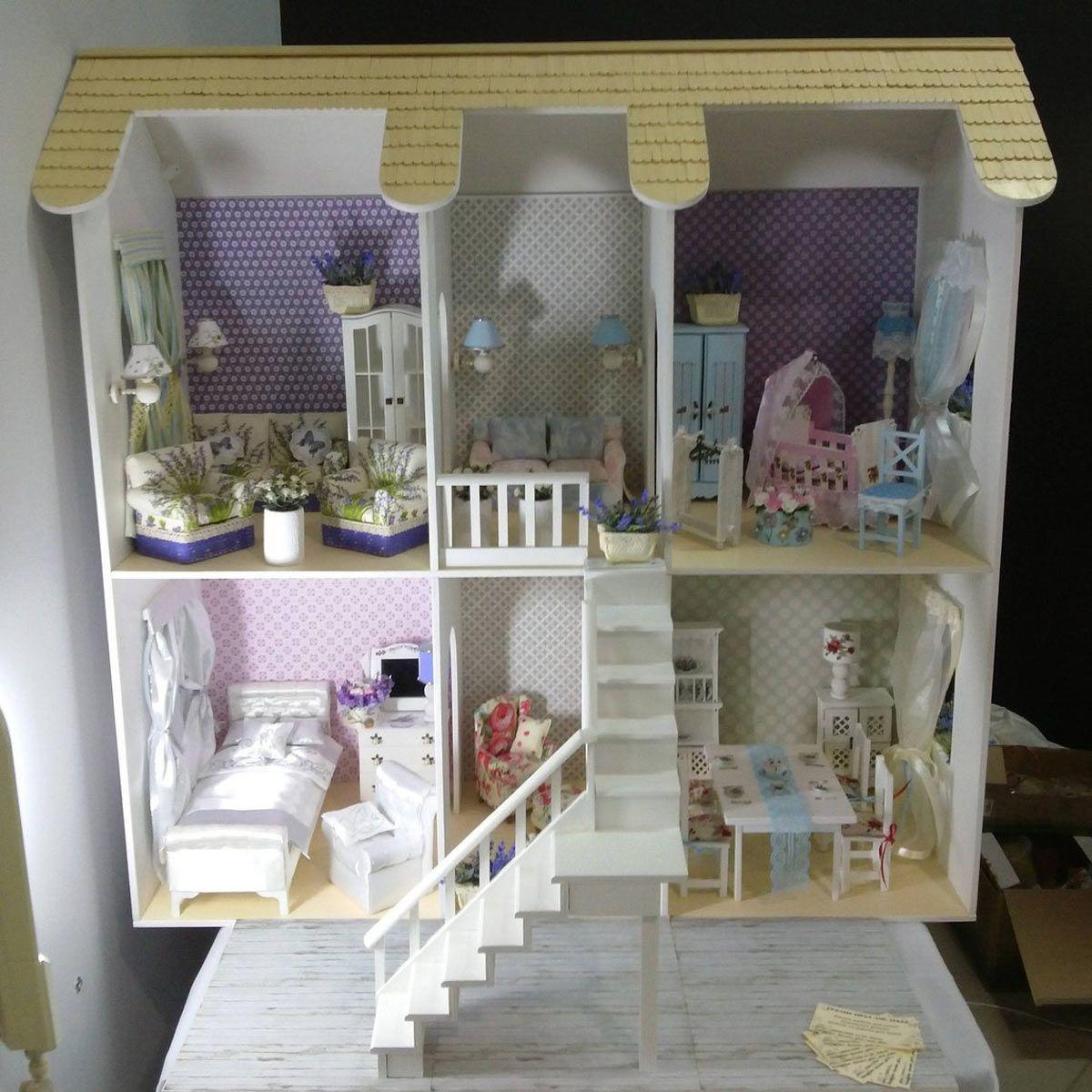 Homemade Barbie House Tour Di 2020