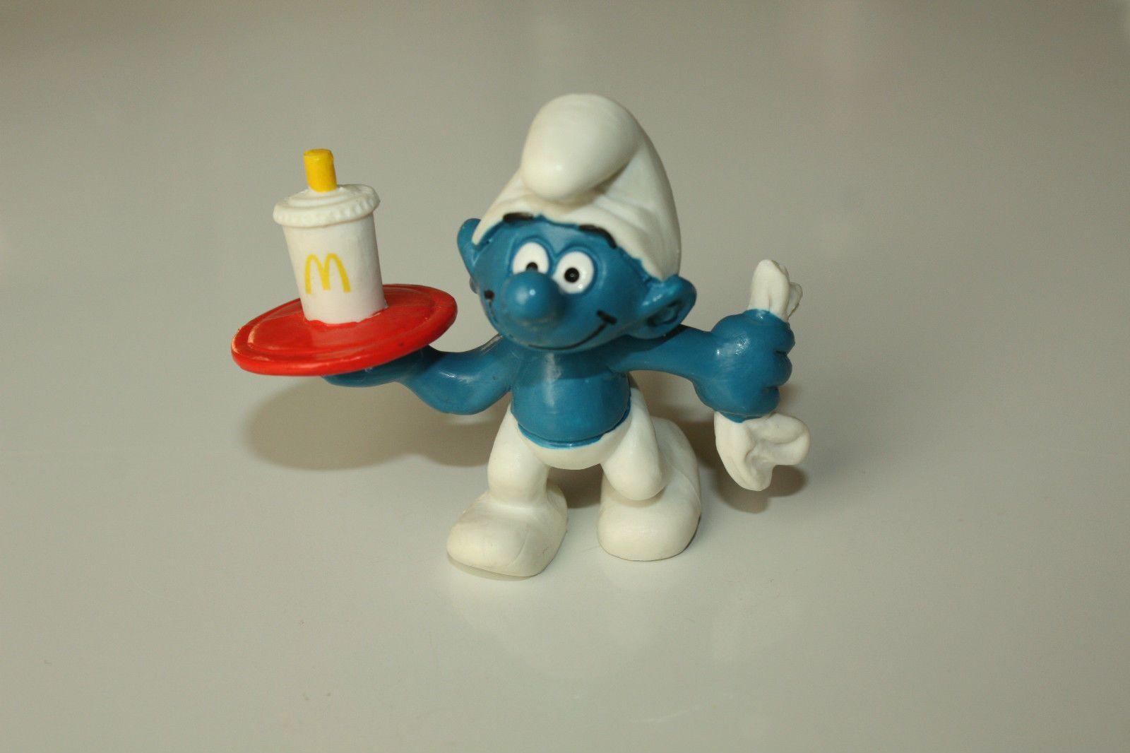 Complete Set UK Issue Promo McDonalds Smurfs Schtroumpfe Schlumpfe Puffi   eBay