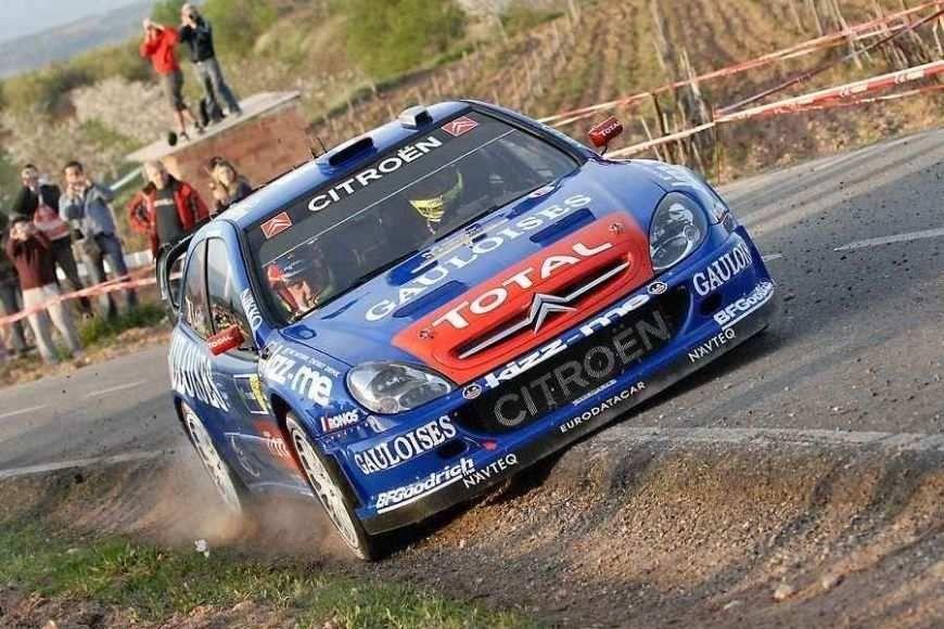 Citroen Xsara WRC - first world rally car in Loeb\'s journey to the ...