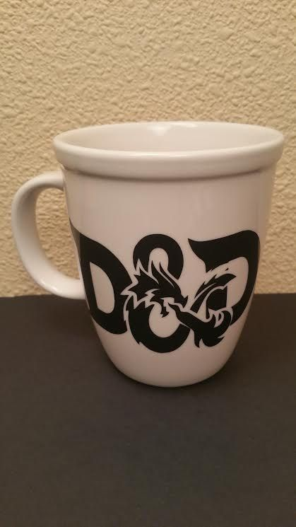 Dungeons Dragons Mug Coffee Cup DndMugs Standard And Size ybY6f7g