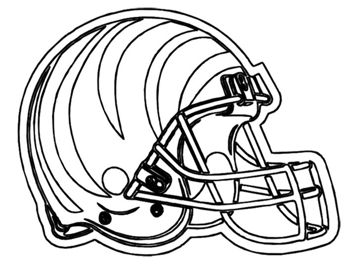 Big Stomp Pro Football Helmet Coloring Sports Coloring Pages