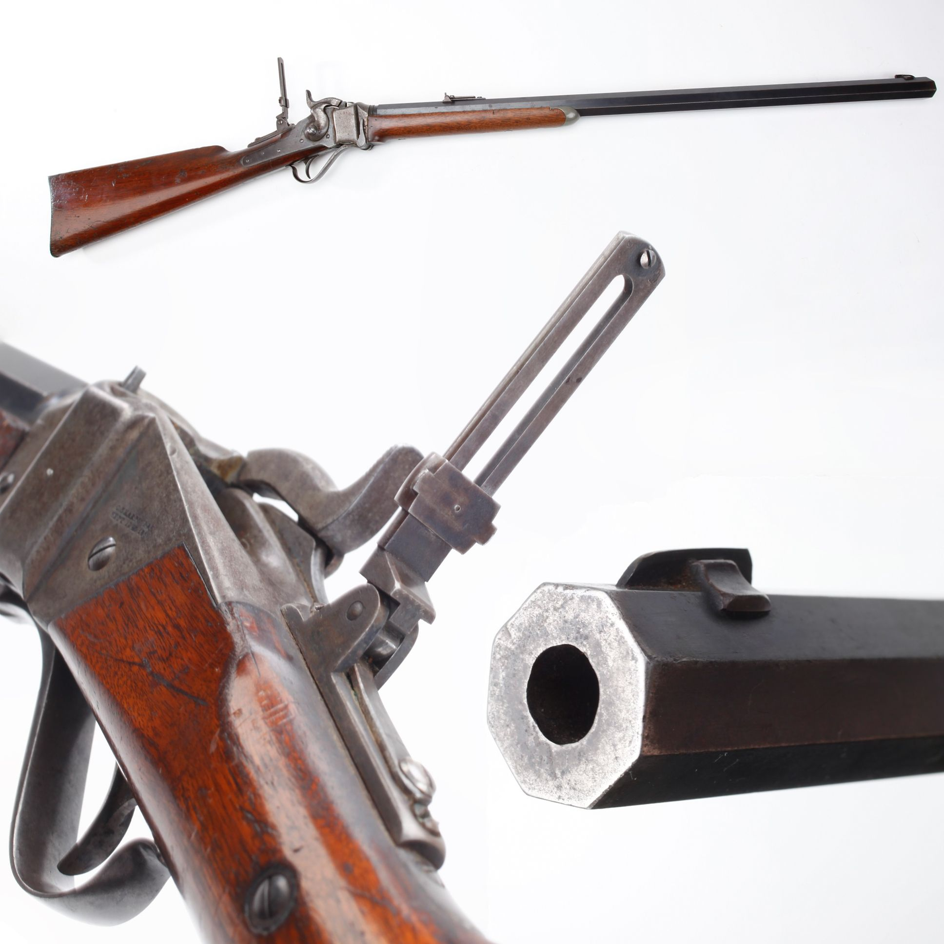 """GUN OF THE DAY – Sharps """"Big 50"""" Rifle  Discover more about this gold standard GOTD for buffalo hunting on the plains: http://bit.ly/1GbXpHc."""