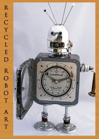 RECYCLED ROBOT ART copy