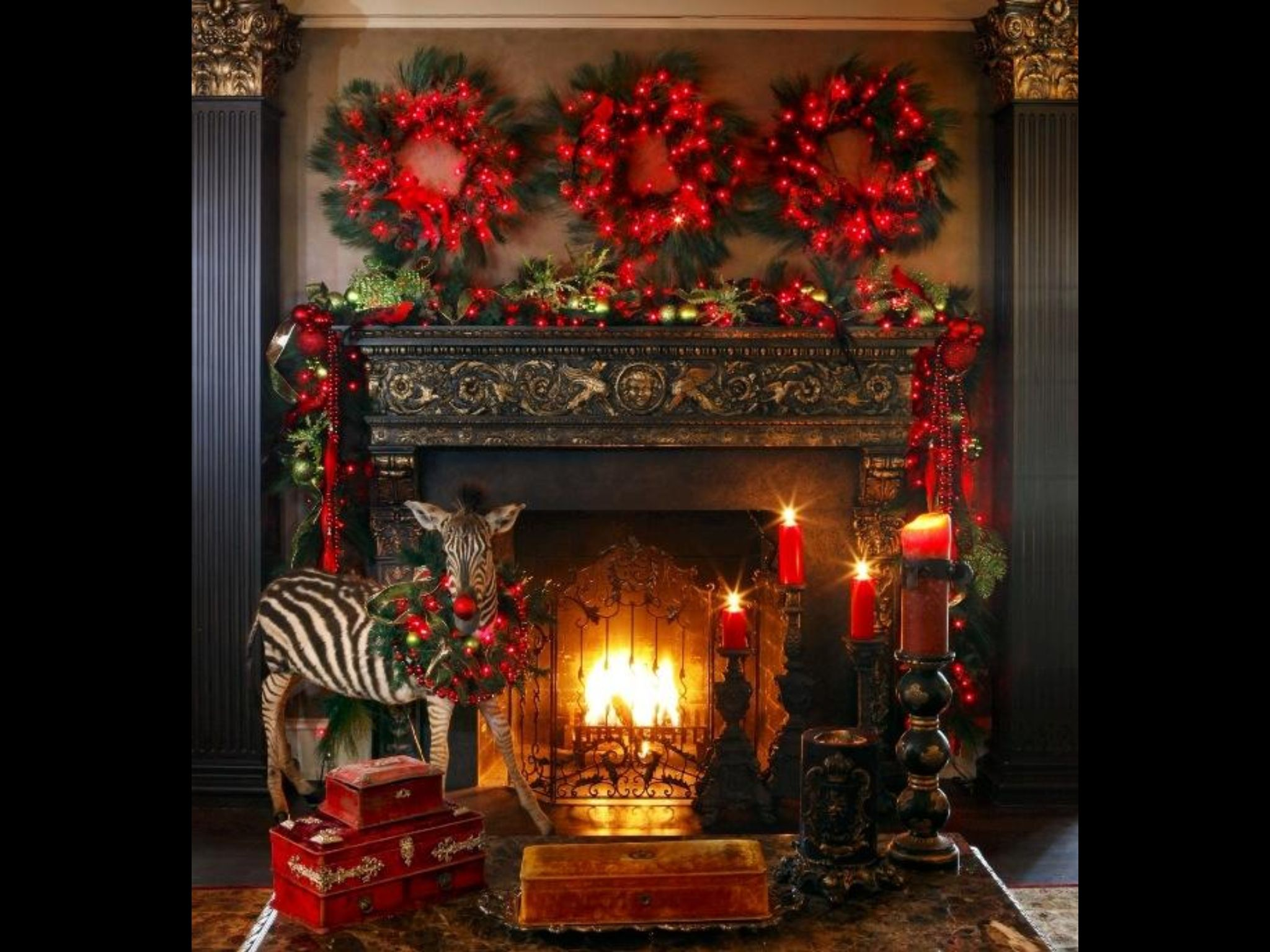 35 Beautiful Christmas Mantels  So Excited To Have A