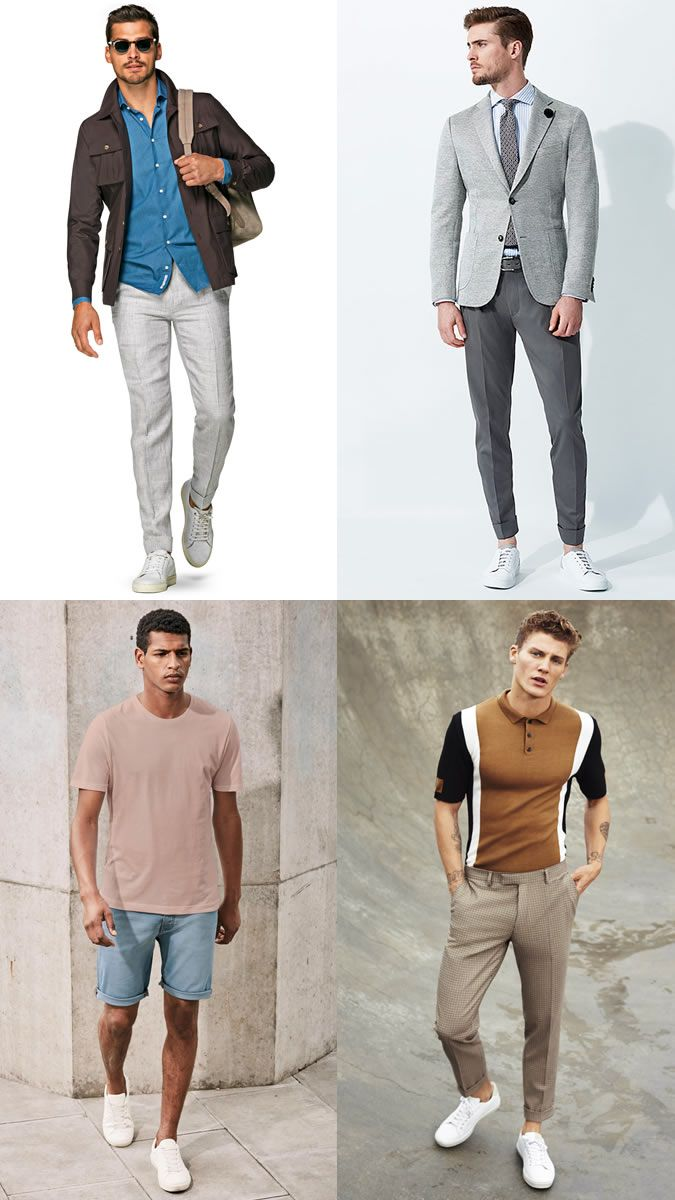 Summer Mens fashion shoes