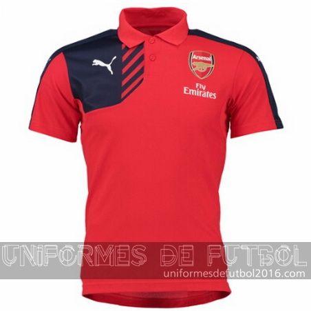 b749bfdca8 Venta de Camisetas polo rojo Arsenal 2015-16  23.90