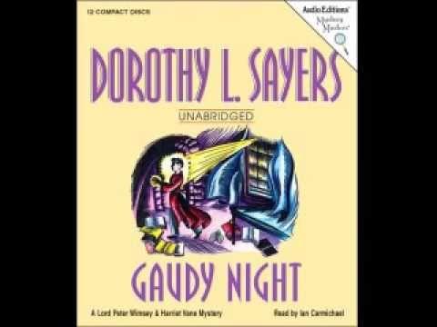 gaudy night -Dorothy L Sayers BBC radio play - YouTube | audiobooks