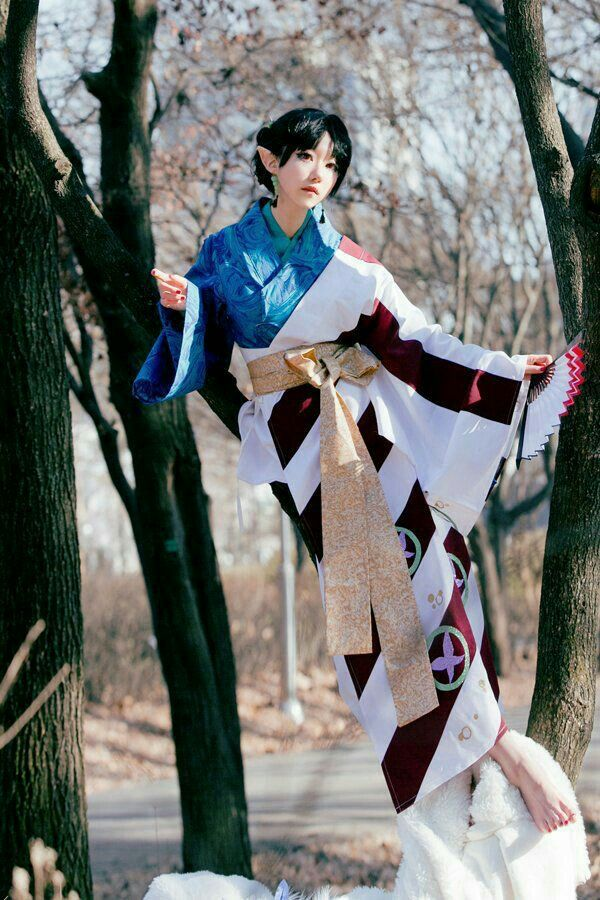 Kagura - InuYasha Cosplayer - SAIDA #cosplay