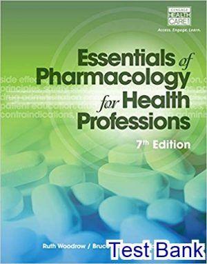 focus on nursing pharmacology 7th edition test bank