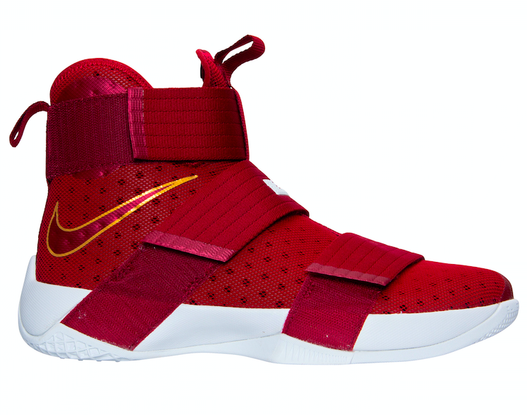online store 87e9f 1f4ec Additional Images Of The Nike LeBron Zoom Soldier 10 Christ The King