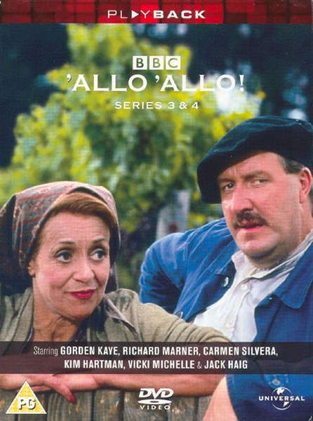 Allo ! Allo! Season Three and Four 1986-1987 Maanalainen armeija iskee jälleen Kaudet 3-4 DVD