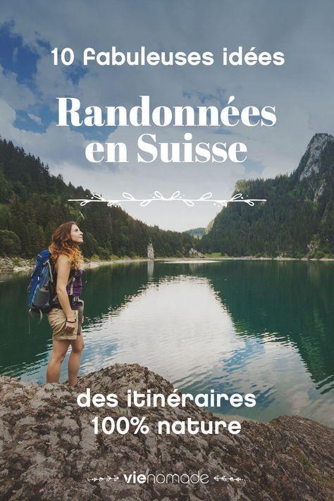 Montagne et nature: idées de randonnées en Suisse