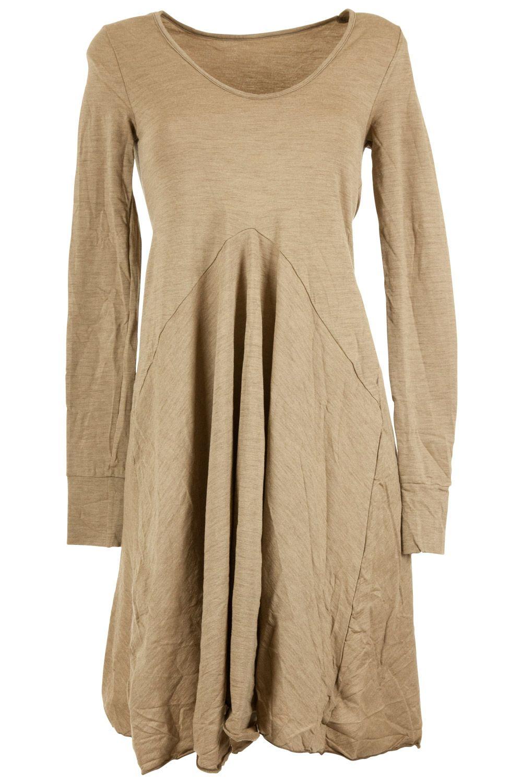 mesop Light Wool Flared Dress