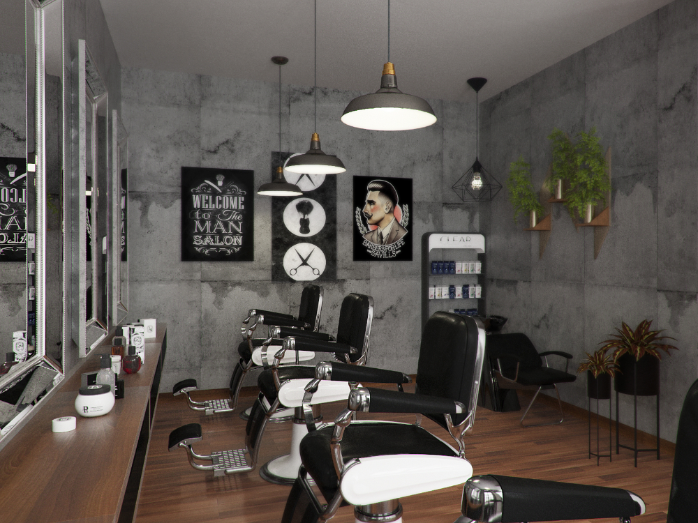 Barbershop design (24/12/2016)
