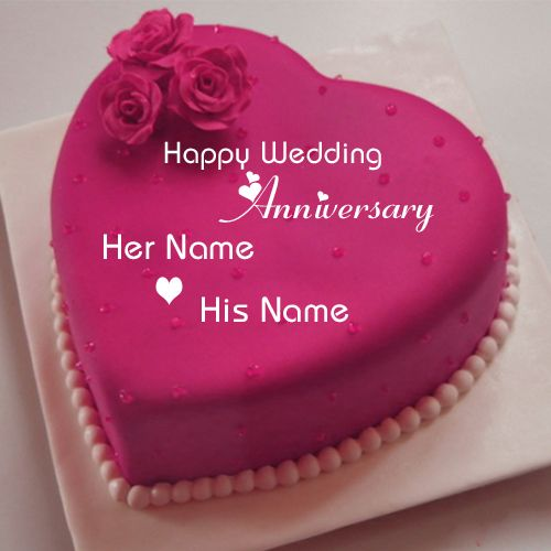 Happy Wedding Anniversary Wishes Heart Name Cake Happy 1st Anniversary In 2020 Happy Anniversary Cakes Happy Marriage Anniversary Cake Happy Wedding Anniversary Wishes
