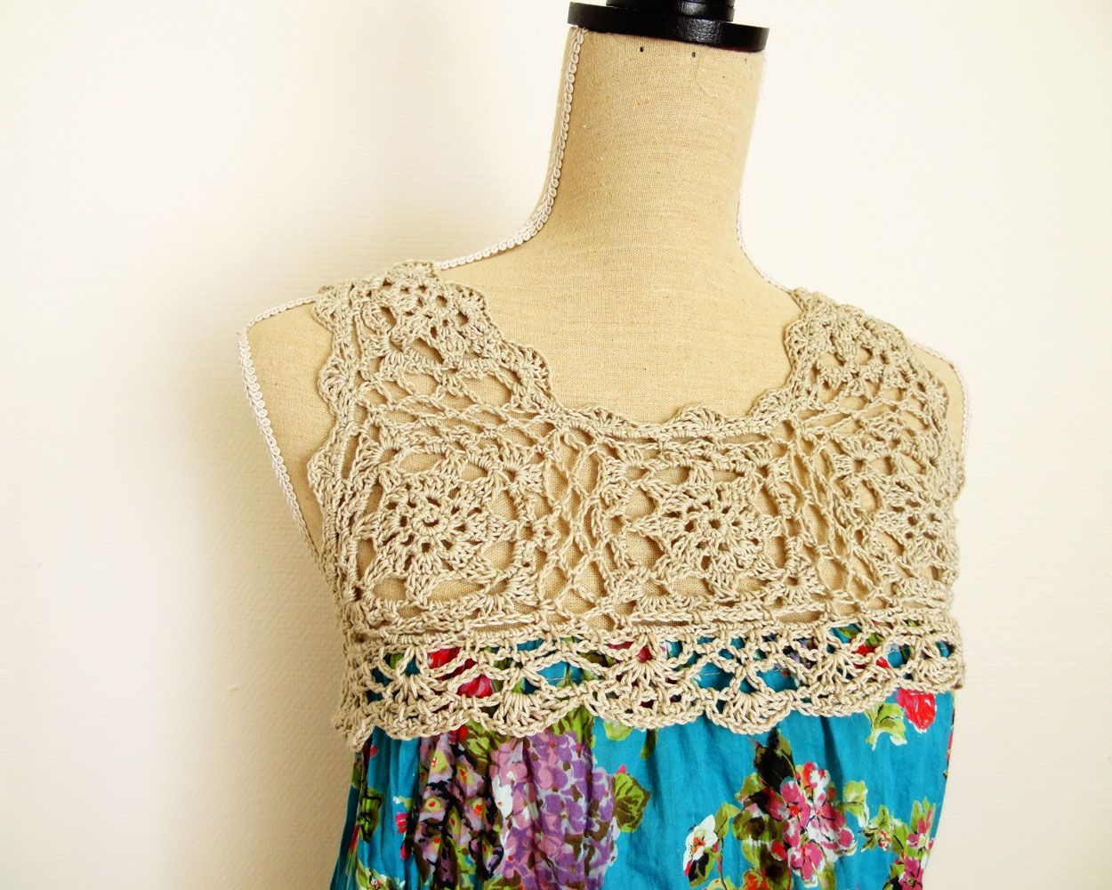Have you got an old scarf laying around an odd skein of cotton ravelry keila top pattern by handy kitty bankloansurffo Image collections