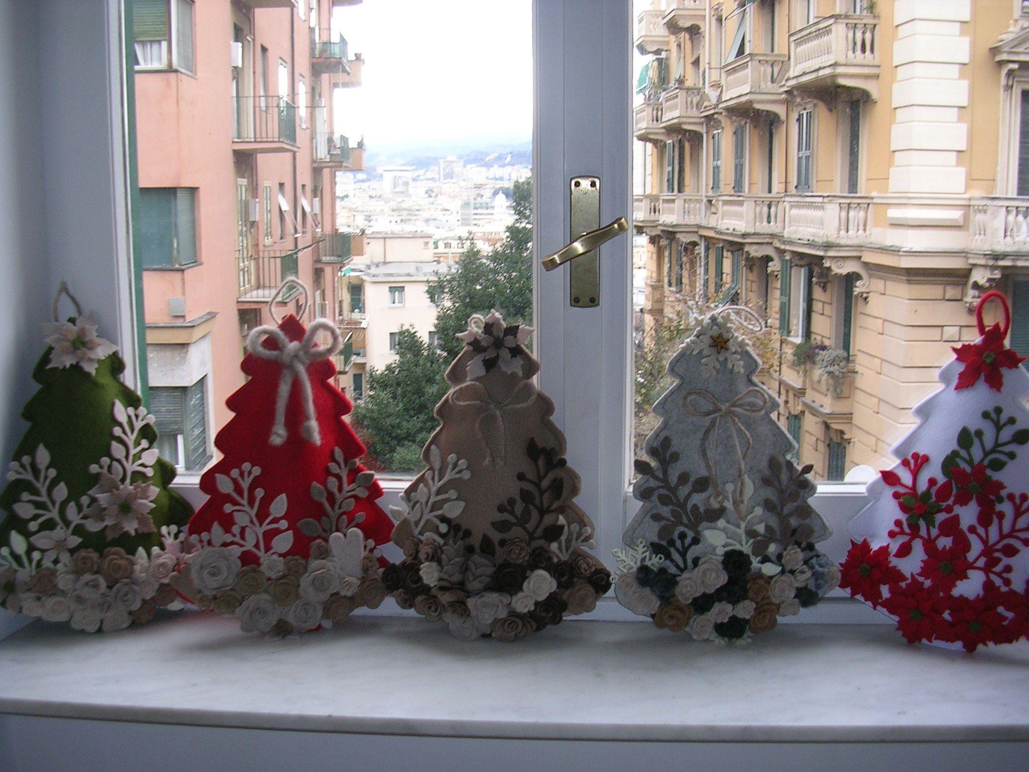 Decorazione Finestre Per Natale : Decorazioni natalizie idee per decorazioni di natale fai da te