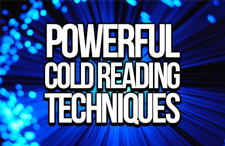 4 Powerful Cold Reading Techniques Mentalism Zone Cold Reading Mind Reading Tricks How To Read People