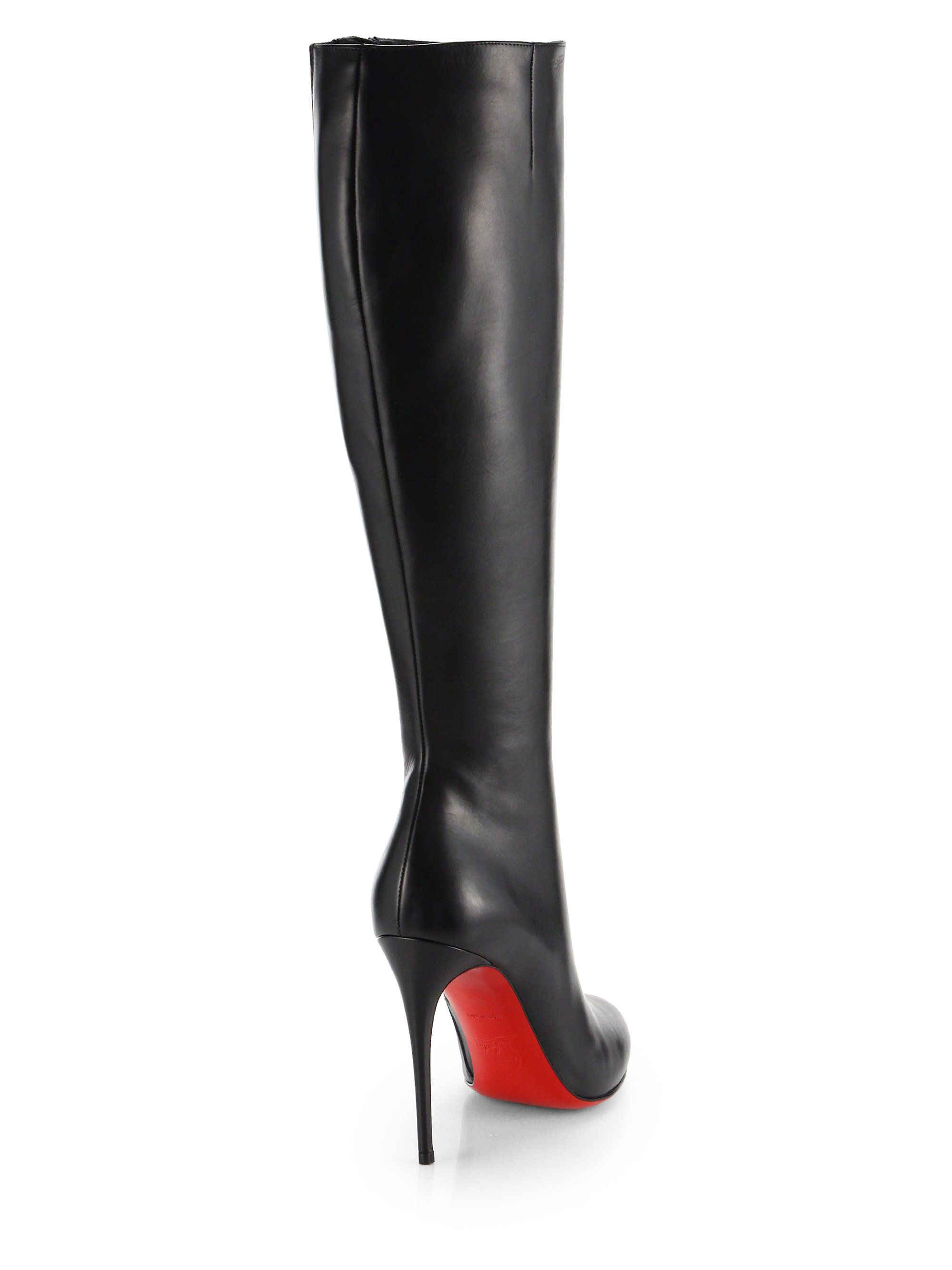 competitive price 79c46 6b981 Christian Louboutin | Things to Wear in 2019 | Boots, Heeled ...