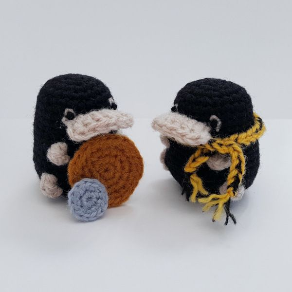 No Sew Niffler Pattern #muñecosdeganchillo