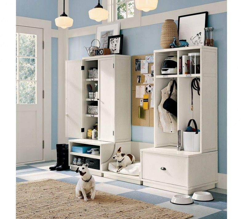 Storage Furniture For Bathroom: Home Storage and Organization Furniture with small pendant lamp ideas