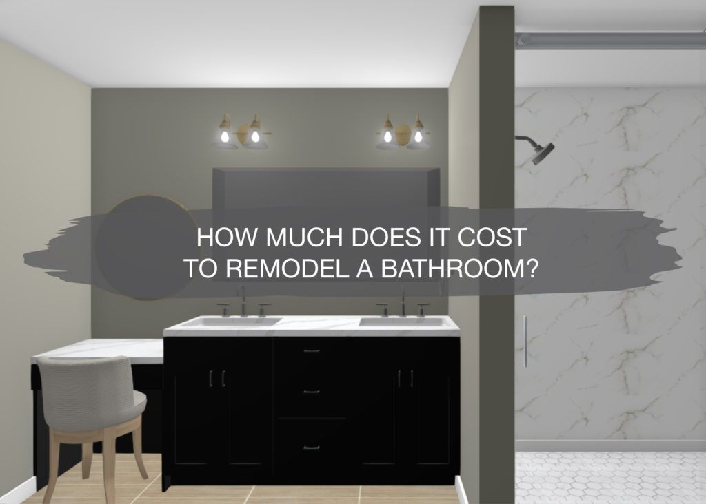 How Much Does It Cost To Remodel A Bathroom Modern Bathroom
