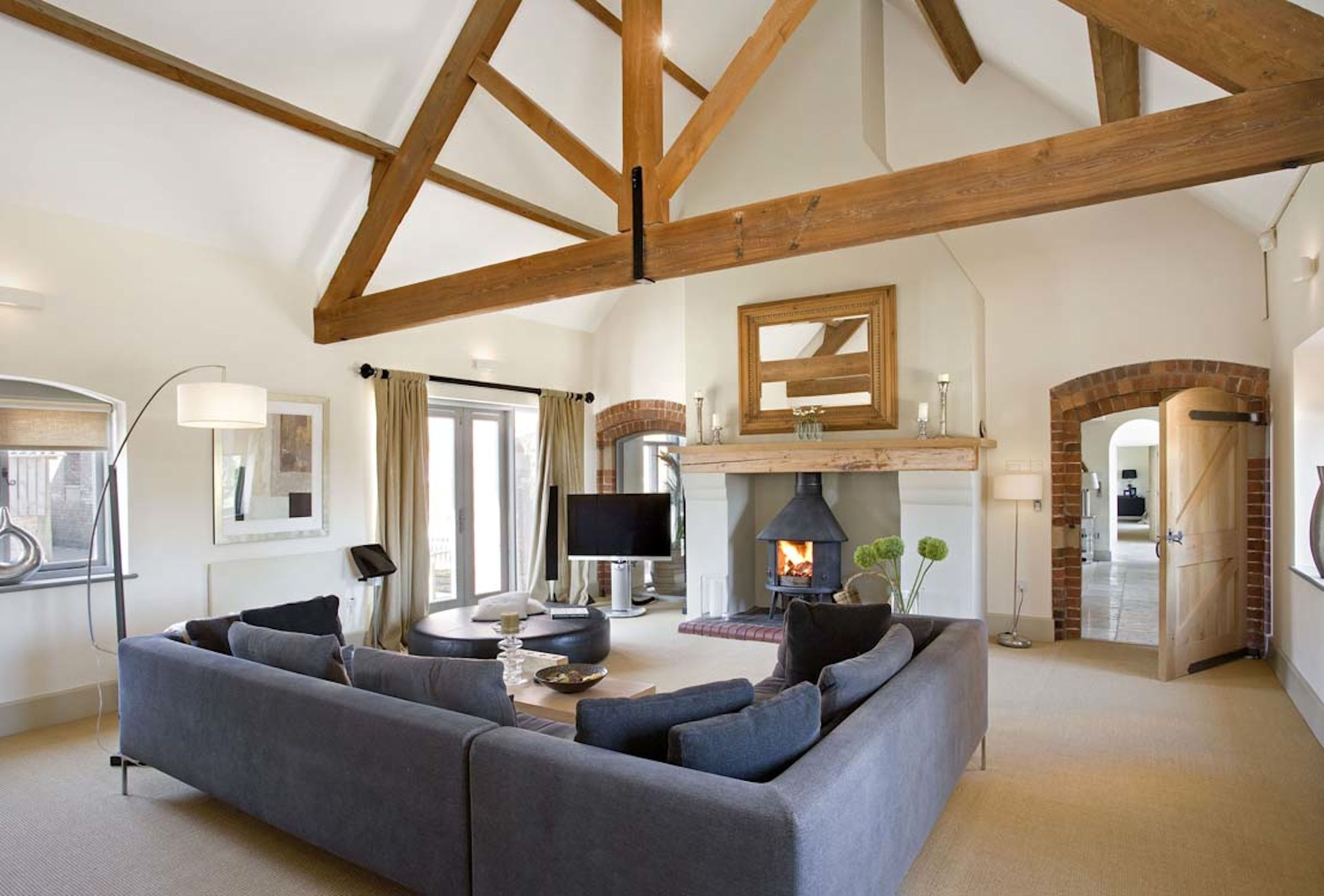 Stables conversion interior google search home for Modern barn home interiors