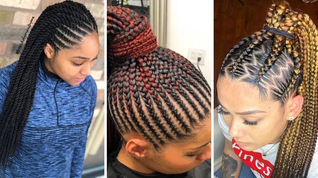 Trending Braided Hairstyles 2019 2020 Absolutely Gorgeous Braids You Should Rock Gorgeous Braids Hair Styles African Braids Hairstyles Pictures