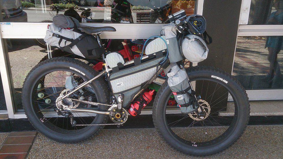 Bike Bag Dude Bikepacking Bags Touring Packing Pinterest