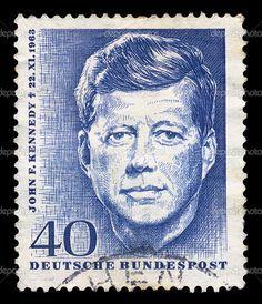 president's postage stamps   Vintage Postage Stamps   JFK postage stamp