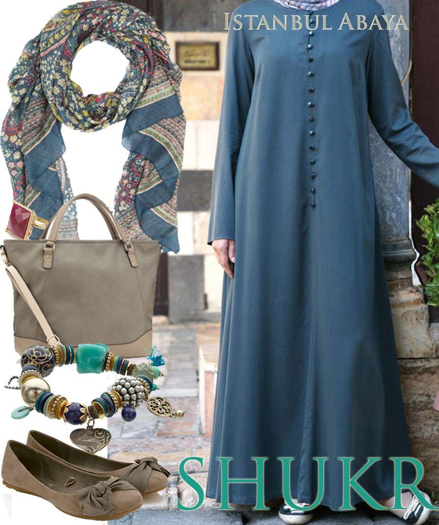 899597fd8 Shop the Look at SHUKR! Istanbul Abaya