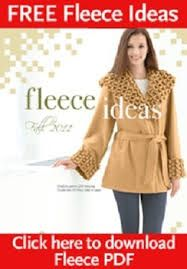 fleece pattetns - Google Search