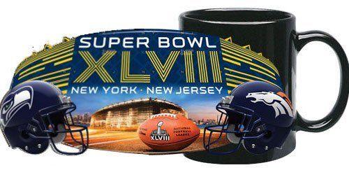 Super Bowl XLVIII 48 NFL Dueling Broncos...