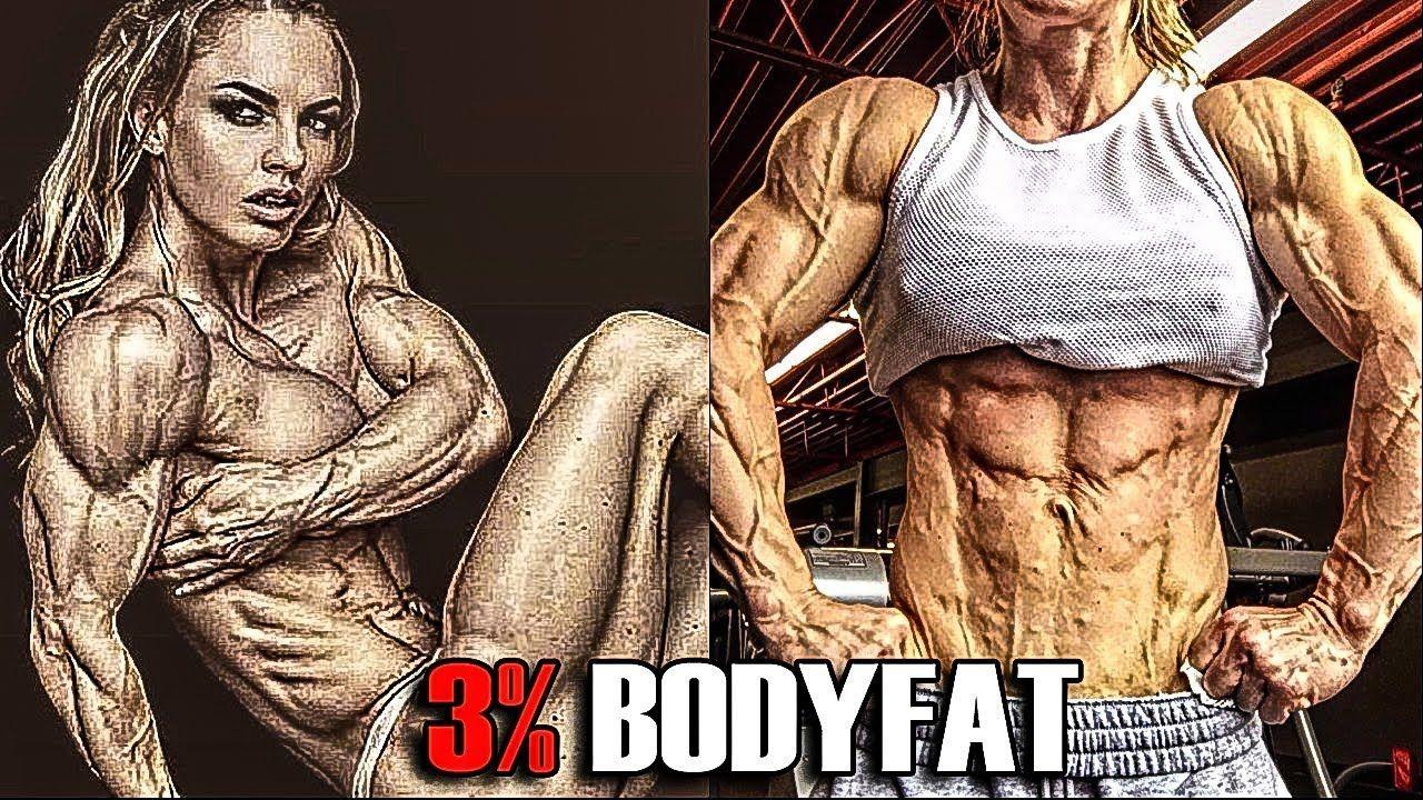The Lowest Female Bodyfat In The World Eleonora Dobrinina 3 Bodyfat Muscle Girls Bodybuilding Female