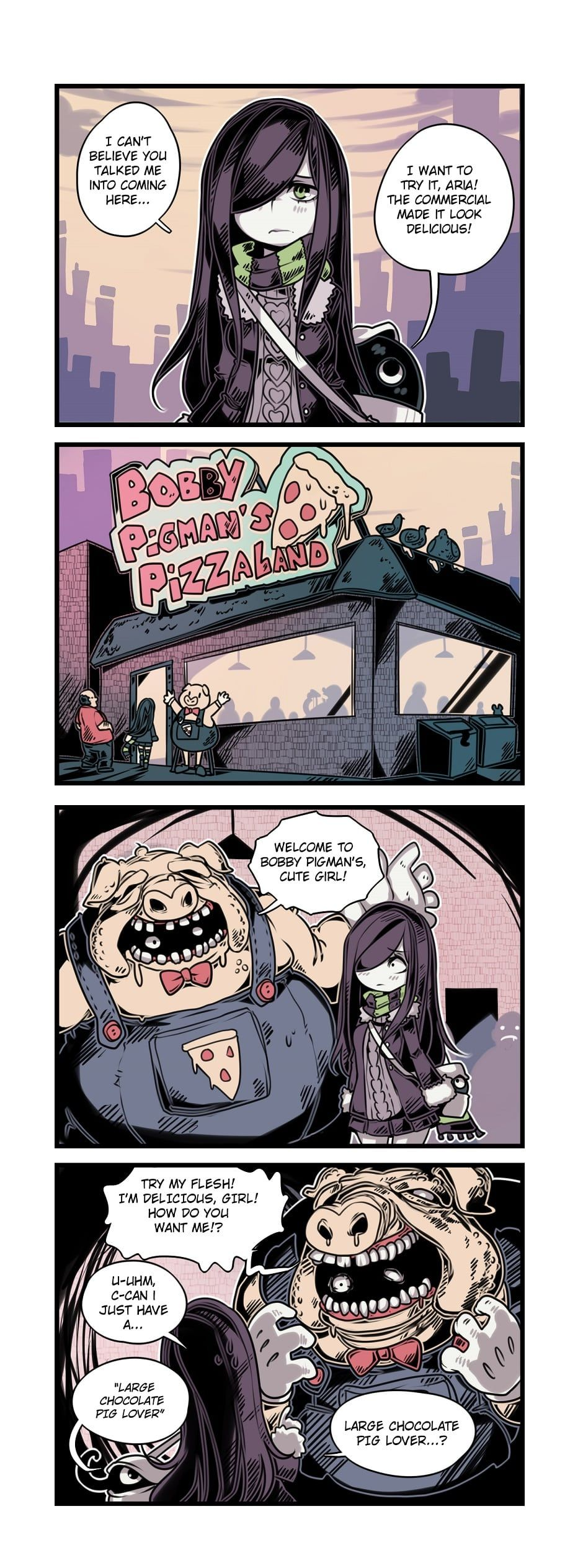 The Crawling City :: Episode 27 - Bobby Pigman's Pizza Land (Part 1)   Tapas - image 1