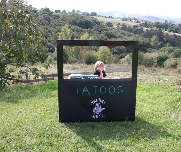 Rock Star Party - Tattoo Parlor. Nice idea! Temp tatoos for everyone :-) X #rockstarparty