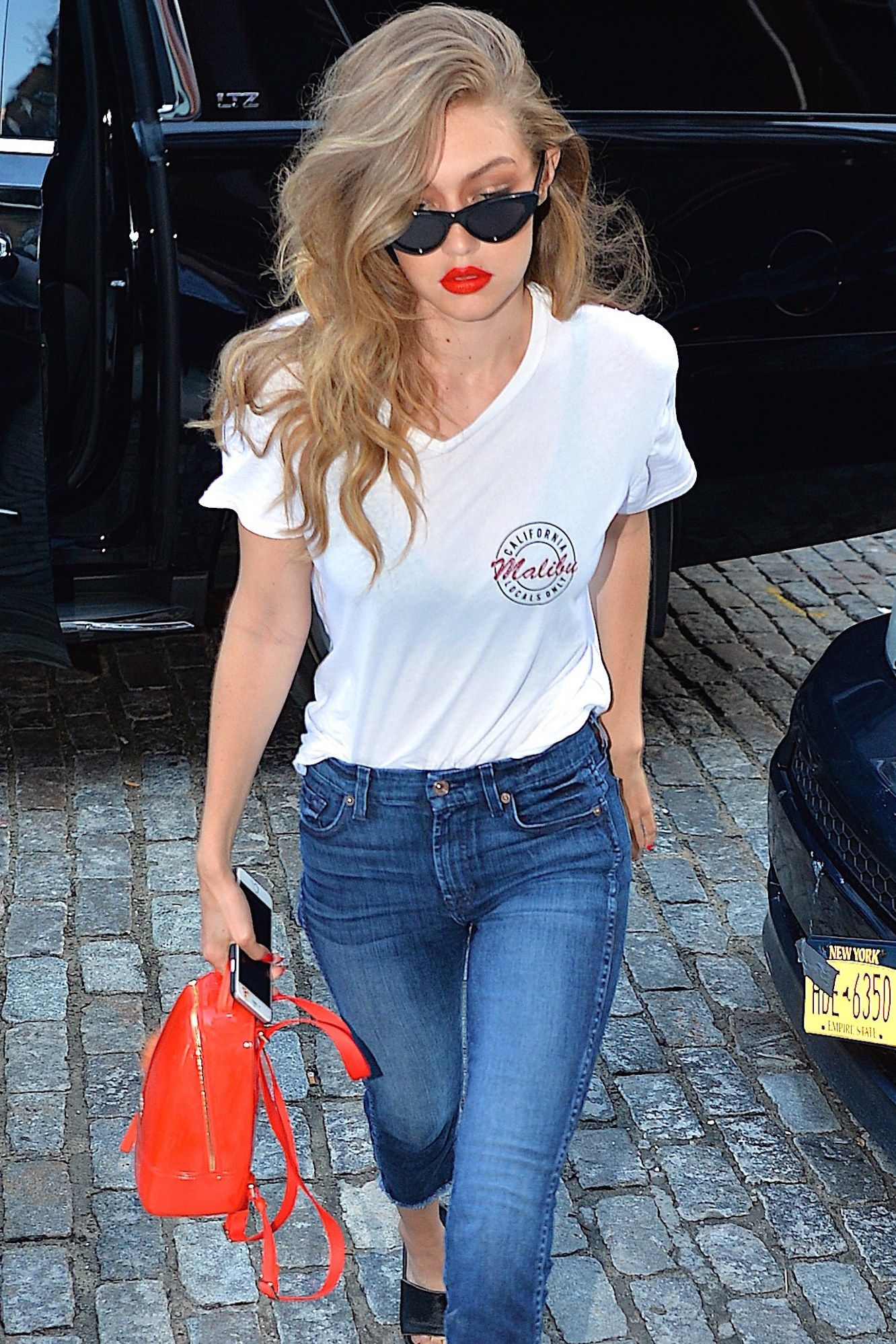 721d555a7 Gigi Hadid's ADORABLE Backpack Is the Only Back-to-School ...