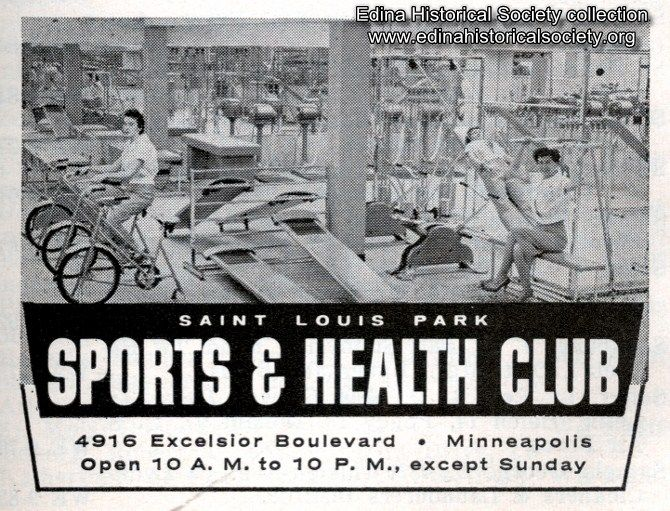 Sports & Health Club on Excelsior Boulevard in St. Louis