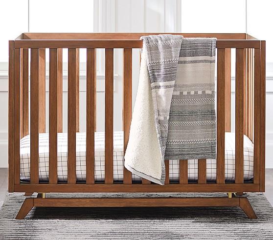 Lennox Convertible Crib Cribs Modern Baby Furniture