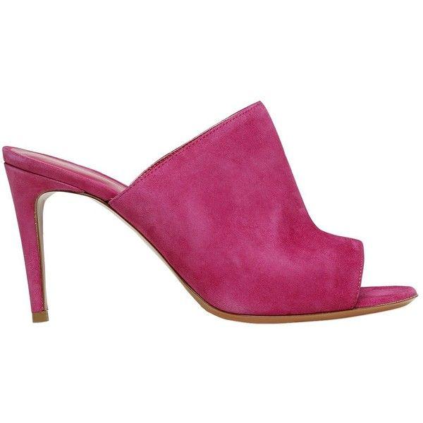 Footwear · Merlyn Women 90mm Suede Mules ...