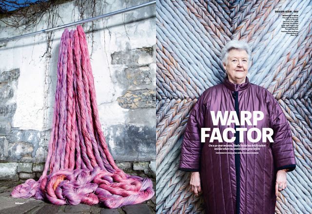 can't live without...: Sheila Hicks........