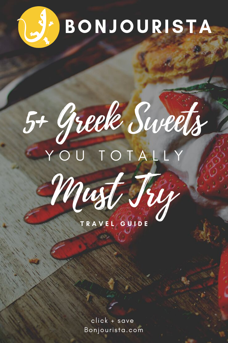 Greek Delicate Cakes And Sweets Are Definitely Sinful Pleasure For Our Demanding Tastes They Offer High Variety Of Ta Greek Sweets Greek Desserts Food To Make